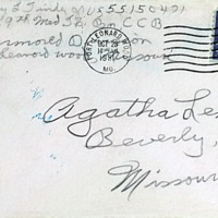 October 22, 1951 (envelope)