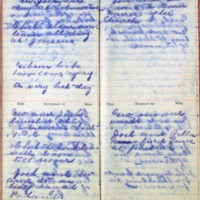 1899 Diary August 11-14