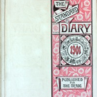 1901 Diary Title Page