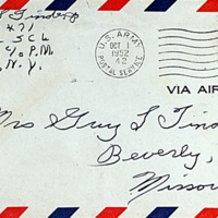 September 30, 1952 (envelope)