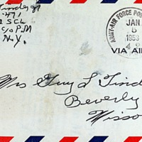 January 5, 1953 (envelope)