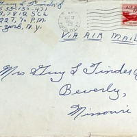 March 27, 1953 (envelope)