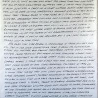 Letter to Charlotte, p. 1