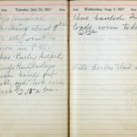 1917 Diary August 1