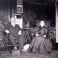 Melville and Samantha Titus, circa 1890
