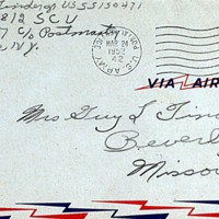 March 23, 1952 (envelope)