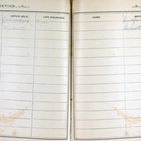 Thomas Family Record Book pages 260 & 261