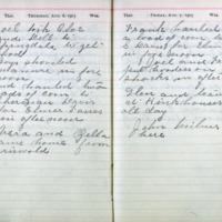 1903 Diary August 6-7