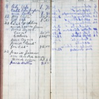 1899 Diary Cash Account November