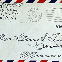 September 15, 1952 (envelope)