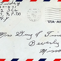 January 12, 1953 (envelope)