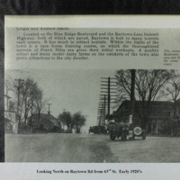 Looking North on Raytown Rd 1920s