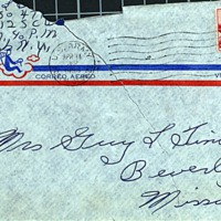 April 13, 1953 (envelope)