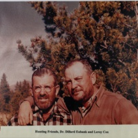 Hunting Friends, Dr. Dillard Eubank and Leroy Cox