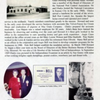 A Century with the Bell, Harrison and Zulauf Families in Jackson County, Missouri and Elsewhere p. 75