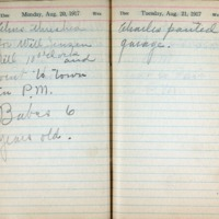 1917 Diary August 20-21