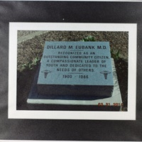 Dillard M. Eubank grave photo