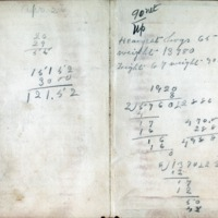 1903 Diary Back Cover