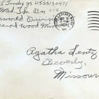 October 10, 1951 (envelope)