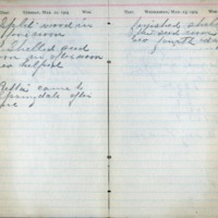 1904 Diary March 22-23