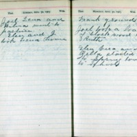 1903 Diary August 30-31