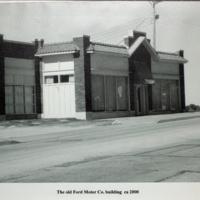 The old Ford Motor Co. building ca 2000