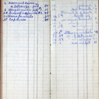 1896 Diary Cash Account November