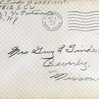 March 5, 1952 (envelope)