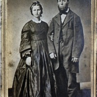 Melville and Samantha Titus, circa 1860