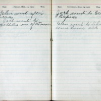 1903 Diary March 13-14