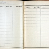 Thomas Family Record Book pages 240 & 241