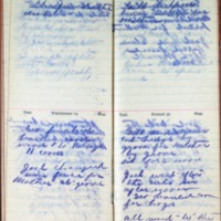 1899 Diary March 28-31