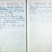 1903 Diary August 26-27