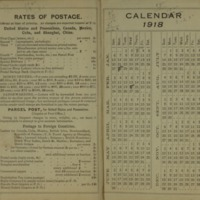 1917 Diary Reference Page 1 & 2