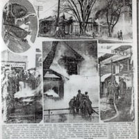 Cassell Store and George Cassell Home Burns